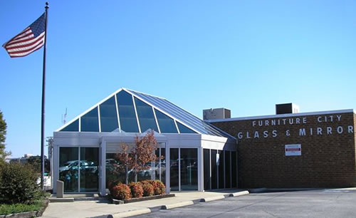 Furniture City Glass showroom
