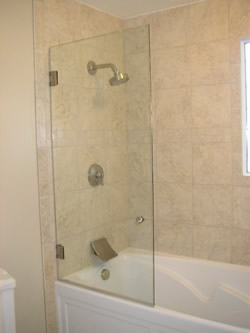 Frameless Glass Tub Enclosures By Furniture City Glass Mirror Company