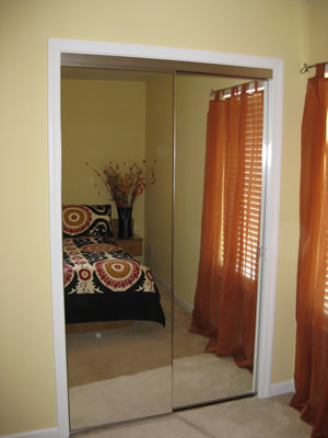 AGM Carolina mirror wardrobe doors